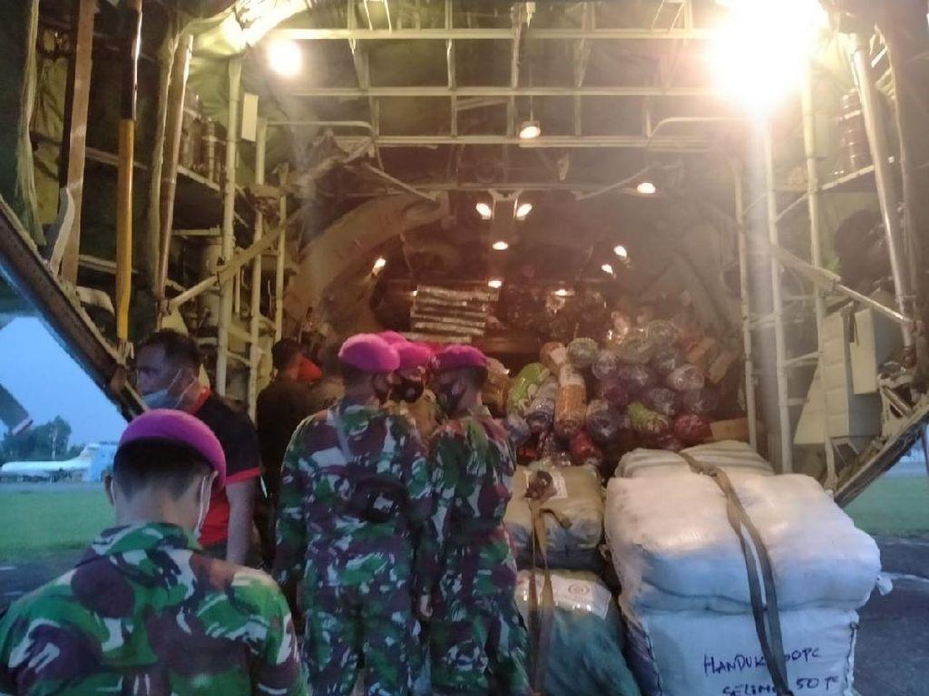 Marinir TNI AL Diterjunkan ke NTT, Bantu Warga yang Terdampak Bencana Alam