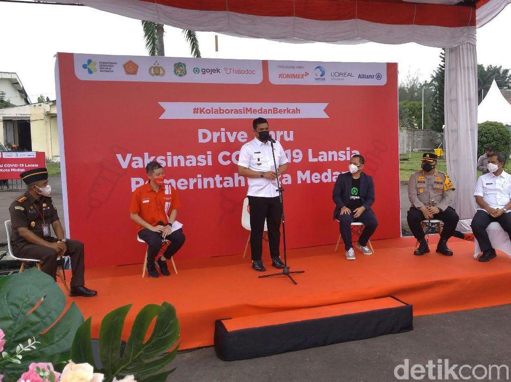 Bobby Nasution Pastikan Vaksinasi di Medan Tetap Siang Hari Saat Ramadhan