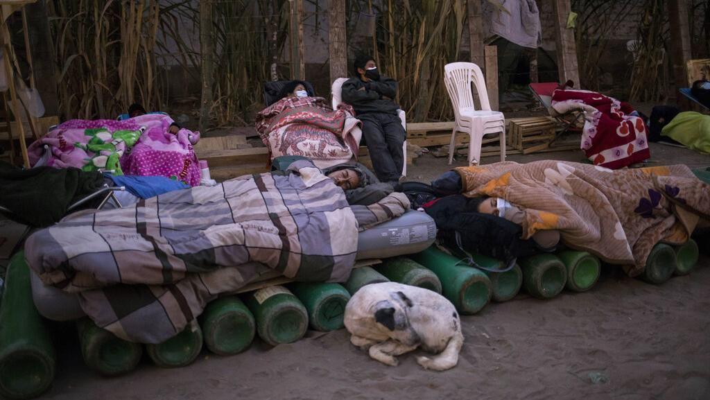 Foto: Peru Mendadak Catat Kematian Corona Terburuk Dunia Usai Data Direvisi