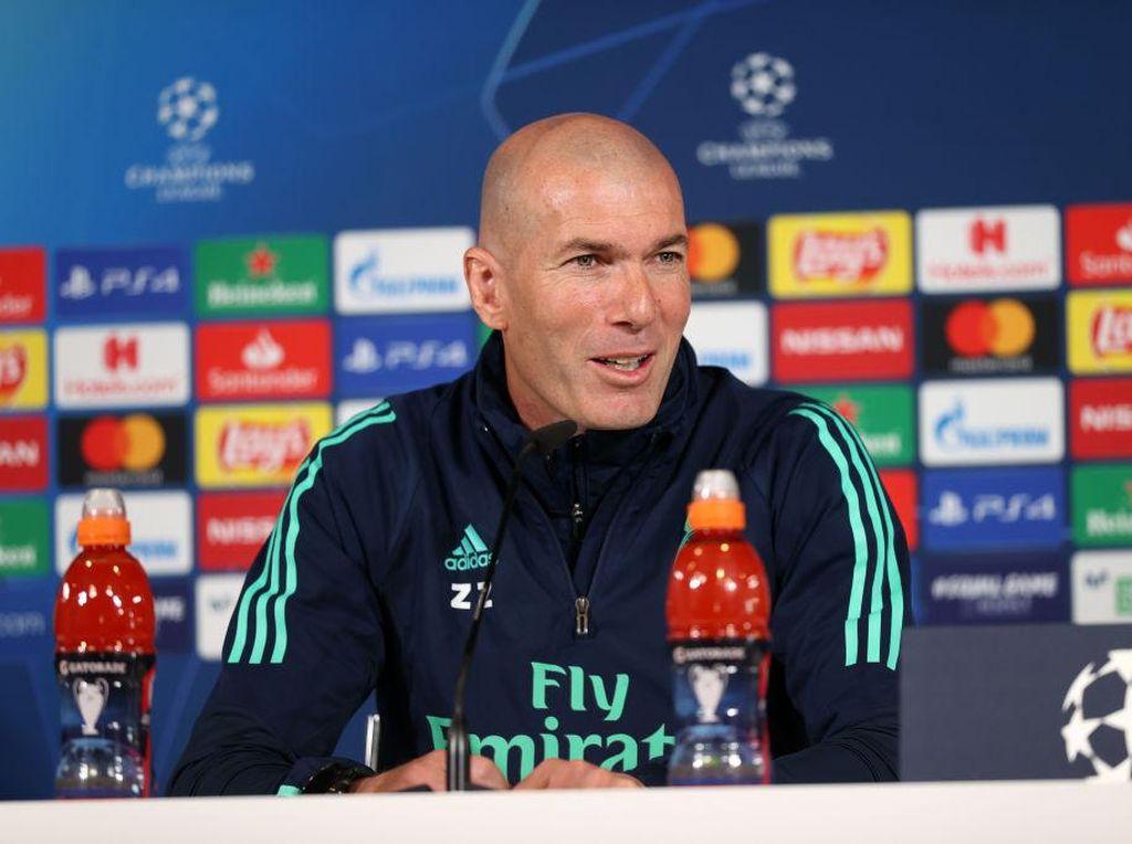 Lagi Jumpa Pers Madrid Vs Liverpool, Zidane kok Ngomongin Juventus?