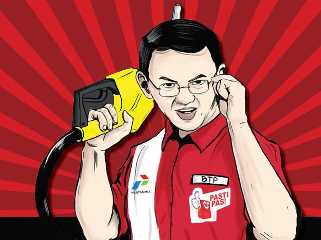 Ahok Balas Sentilan Ketua Banggar DPR soal Premium