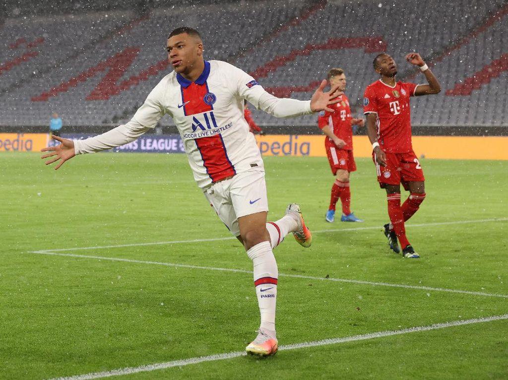Bayern Vs PSG: Les Parisiens Unggul 2-1 di Babak Pertama