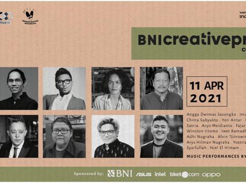BNI Creativepreneur Conference 2021 Hadir Dorong Anak Muda Berkarya