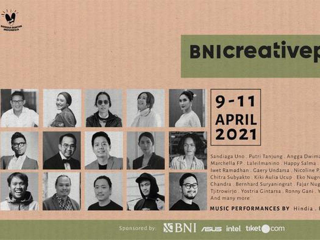 Sudah Dimulai, Yuk Tonton BNI Creativepreneur Conference 2021 di Sini!
