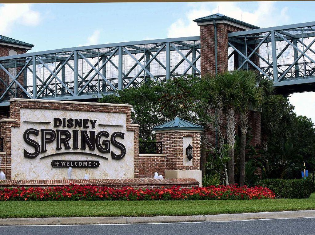 Turis di Disney World Ditangkap Gegara.. Tak Mau Periksa Suhu