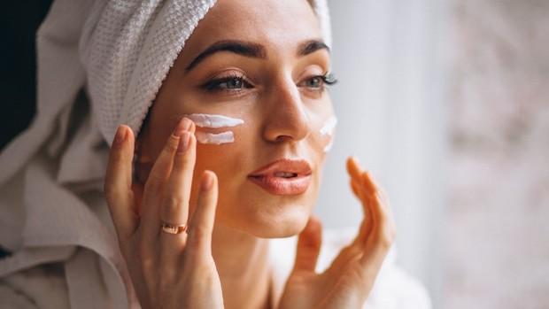 Ilustrasi kulit sehat.