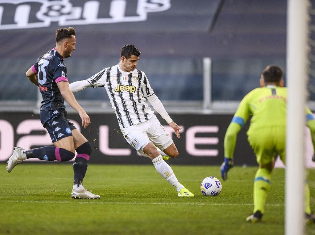 13 Data-Fakta Kemenangan Juventus atas Napoli