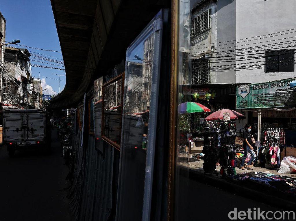 Tegas! Pedagang Pasar di Sini Dilarang Dagang kalau Ogah Divaksin