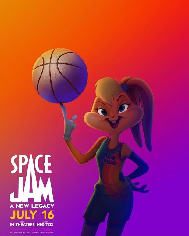 Karakter Lola Bunny dalam Space Jam