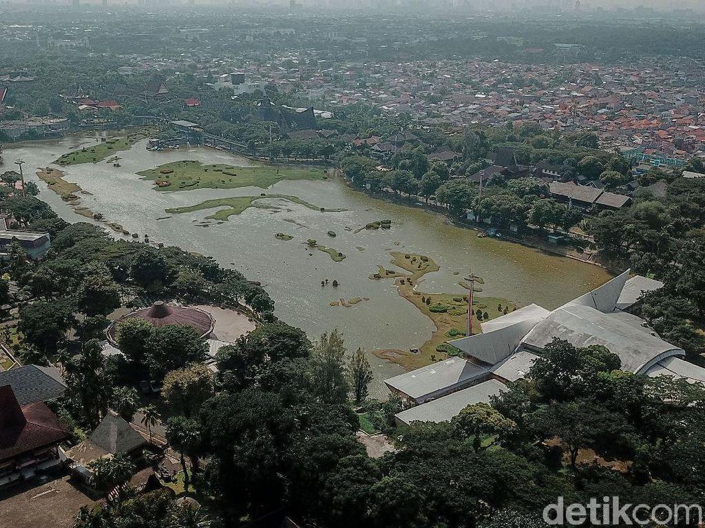Foto TMII yang Berhasil Diambil Alih Presiden Jokowi