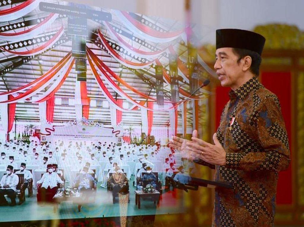 Momen Jokowi Buka Munas IX LDII