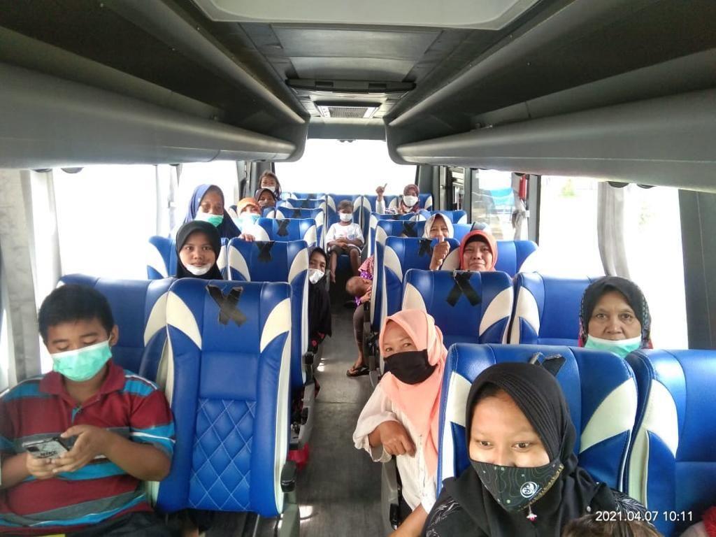 Pastikan Aman, Pertamina Mulai Pulangkan Pengungsi Insiden Balongan