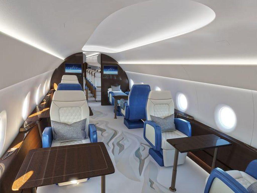 Rupa Kabin Pesawat Supersonik Air Force One