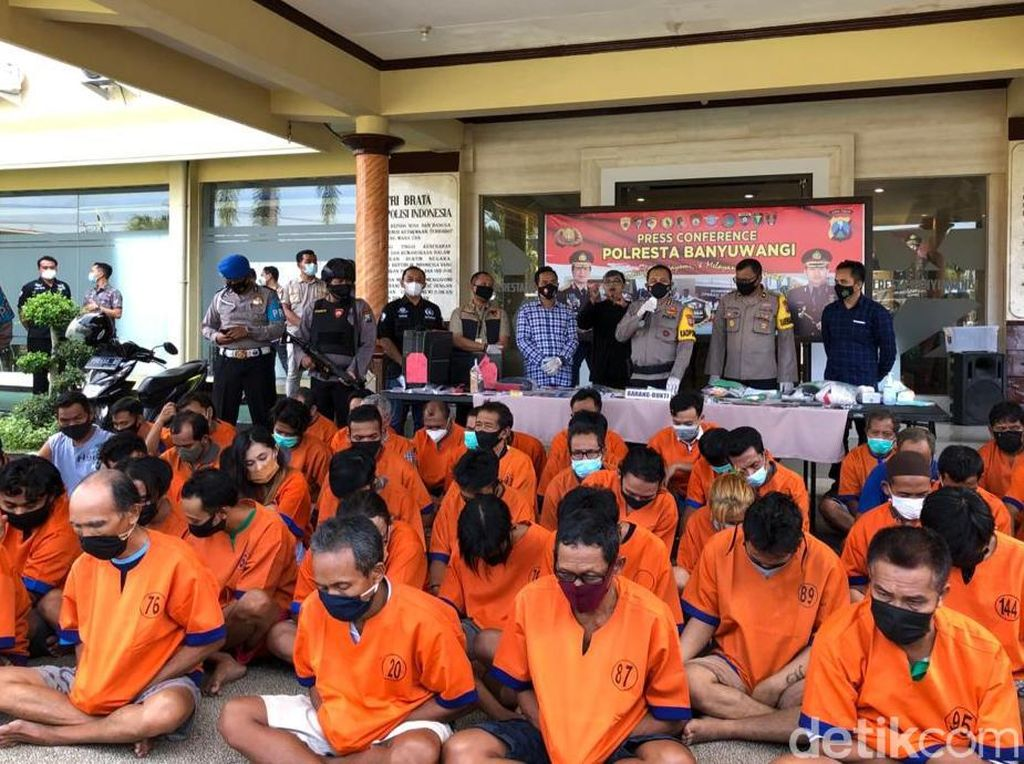 Operasi Pekat di Banyuwangi Didominasi Kasus Premanisme