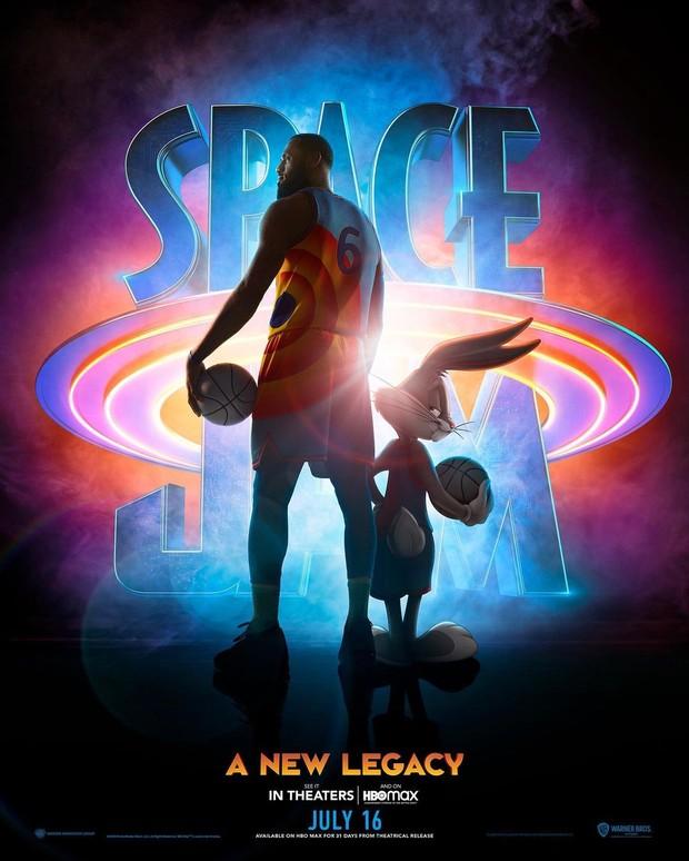 Poster utama film Space Jam: A New Legacy