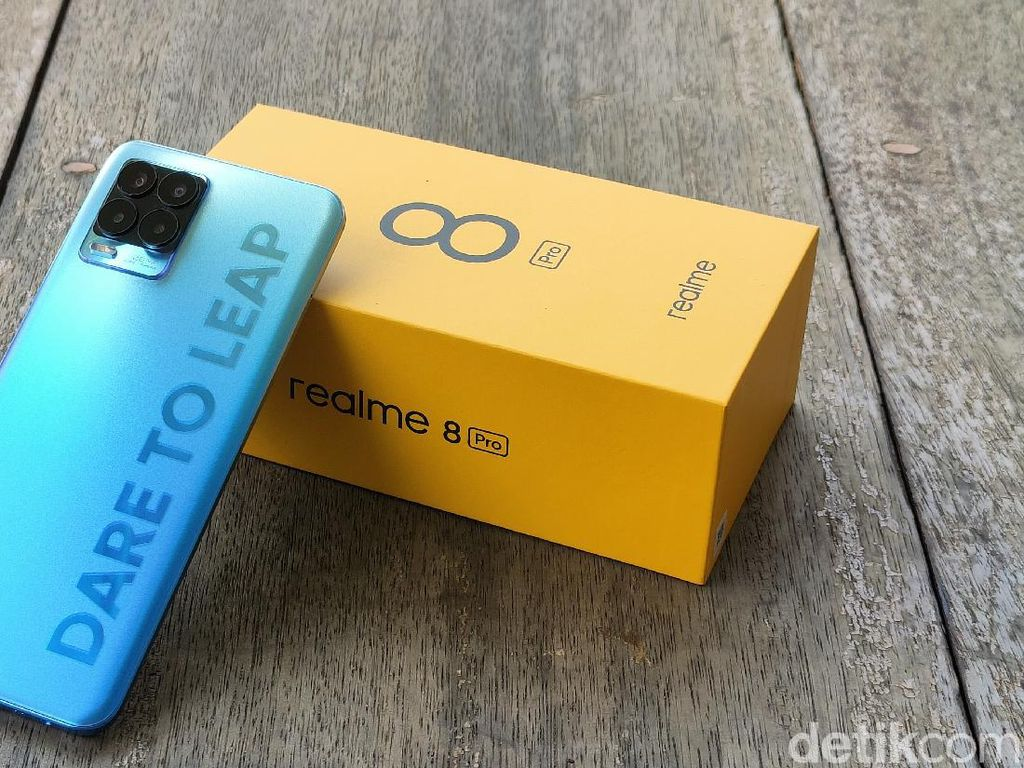 Realme 8 Pro Dipreteli, Terungkap Ukuran Kamera 108 MP Sesungguhnya