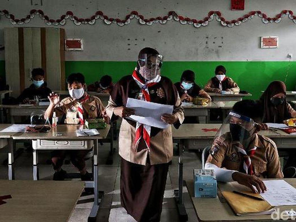 Pemprov DKI Klaim Siswa Antusias Sekolah Tata Muka: Semoga Publik Percaya