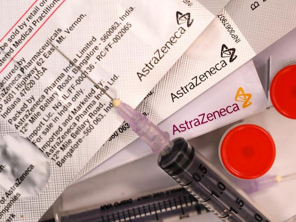 Pembekuan Darah Efek Samping AstraZeneca, EMA Minta Vaksin Tetap Digunakan