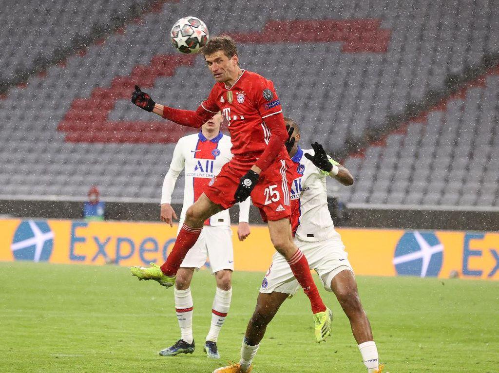 Bayern Vs PSG: Die Roten Dominan, tapi Tetap Saja Kalah