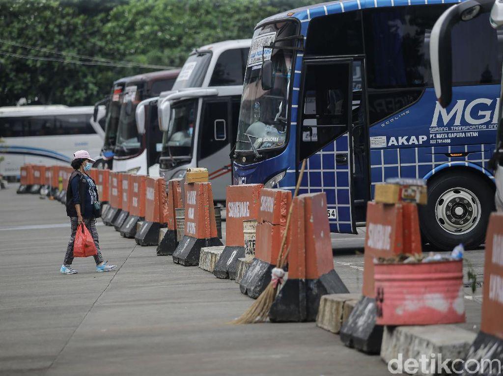 Banyak Pemudik Colong Start, PO Bus Tetap Tak Kebagian Penumpang