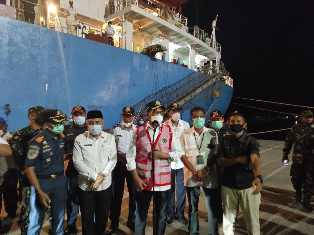 Menhub Ungkap Dualisme Pelabuhan di Sumbawa Besar NTB: Satukan!