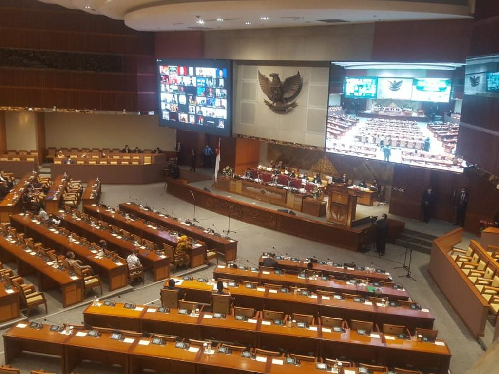 287 Anggota DPR Tak Hadiri Rapat Paripurna Penutupan Masa Sidang