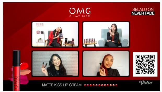 OMG Oh My Glam Matte Kiss Lip Cream