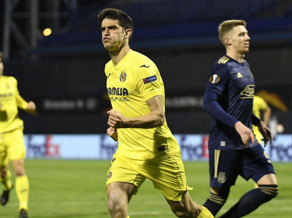 Liga Europa: Villarreal Bungkam Dinamo Zagreb 1-0