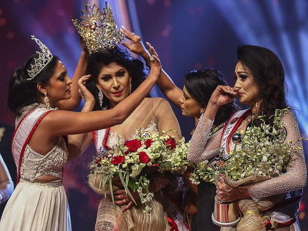 Eks Mrs World Sri Lanka Ditahan Usai Copot Mahkota Juara Kontes Kecantikan