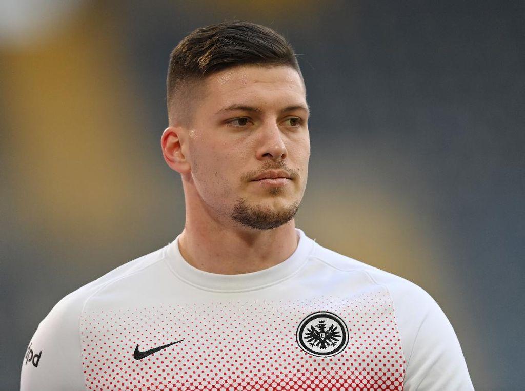 Maaf, Frankfurt... Luka Jovic Balik ke Madrid di Akhir Musim