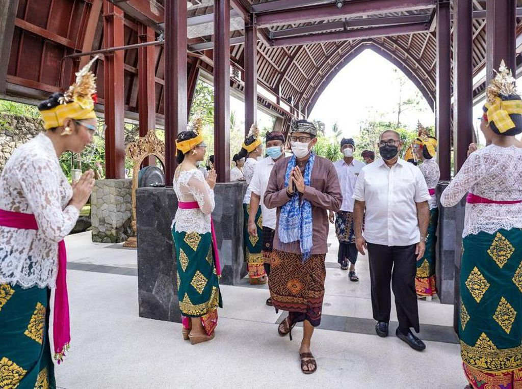 Sandiaga Buka Ajang Pelatihan Usaha, Penanda Kebangkitan Pariwisata Bali