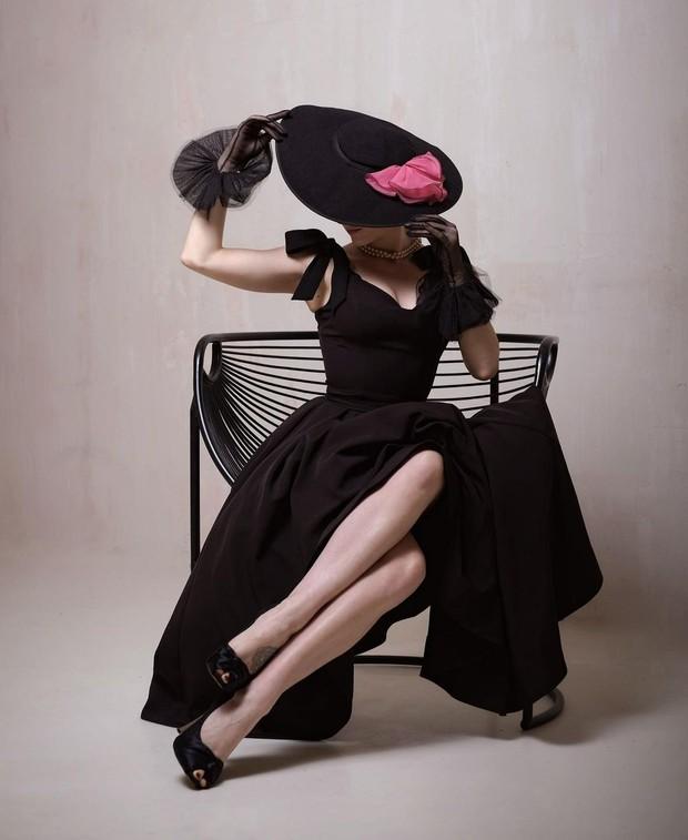 Midi Maxi Black Dress