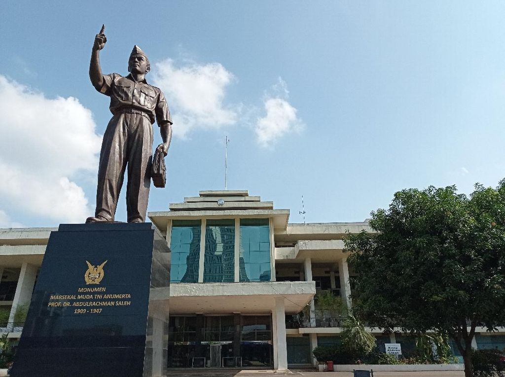 Panglima TNI Harap Monumen Marsda Abdulrachman Saleh Cikal Bakal RS Pusat AU