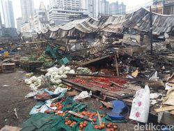 Pasar Jaya Segera Perbaiki Lapak-Kios Pasar Kambing yang Terbakar