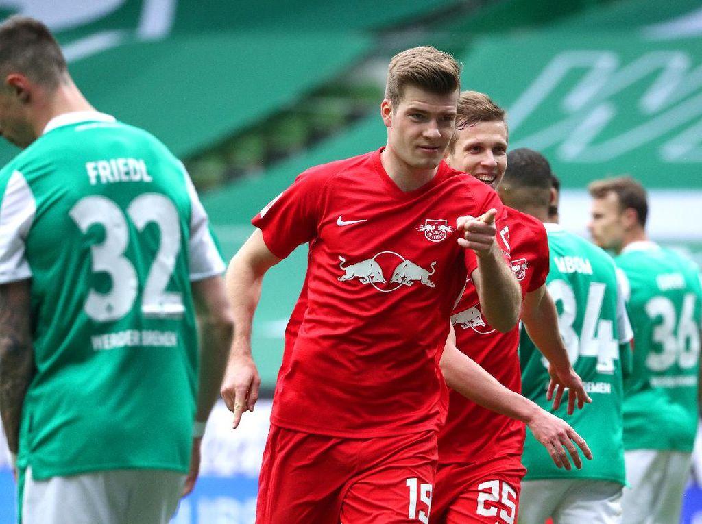 Hasil Liga Jerman: RB Leipzig Gulung Bremen 4-1