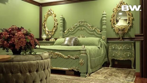 Kamar tidur dengan nuansa warna hijau/yotube.com/boywilliam