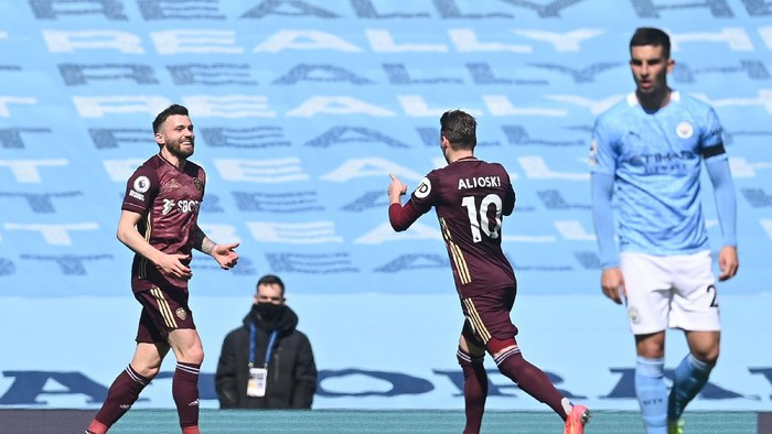 Babak I Man City Vs Leeds: The Citizens Tertinggal 0-1