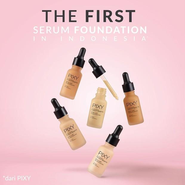 Pixy UV Whitening Stay Last Serum Foundation