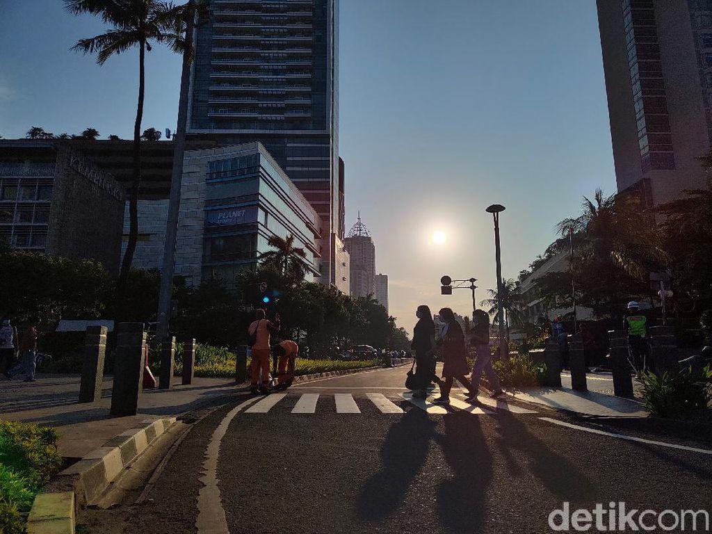 Merekam Sore Hari di Ibukota Dengan Realme 8 Pro