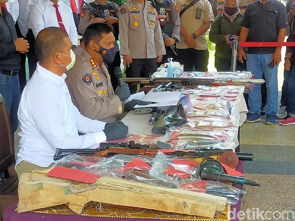 Polisi Telusuri Dugaan Teroris Kasus Home Industry Senpi Rakitan di Banyuwangi