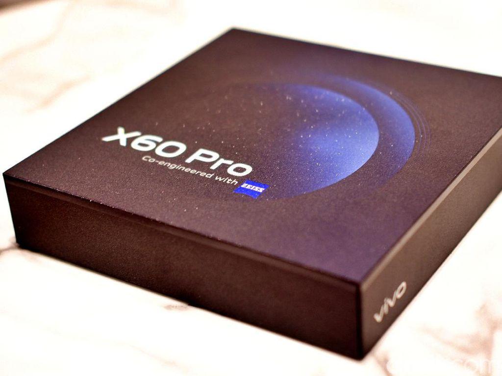 Unboxing Vivo X60 Pro, HP Kamera Bergimbal Rp 10 Juta