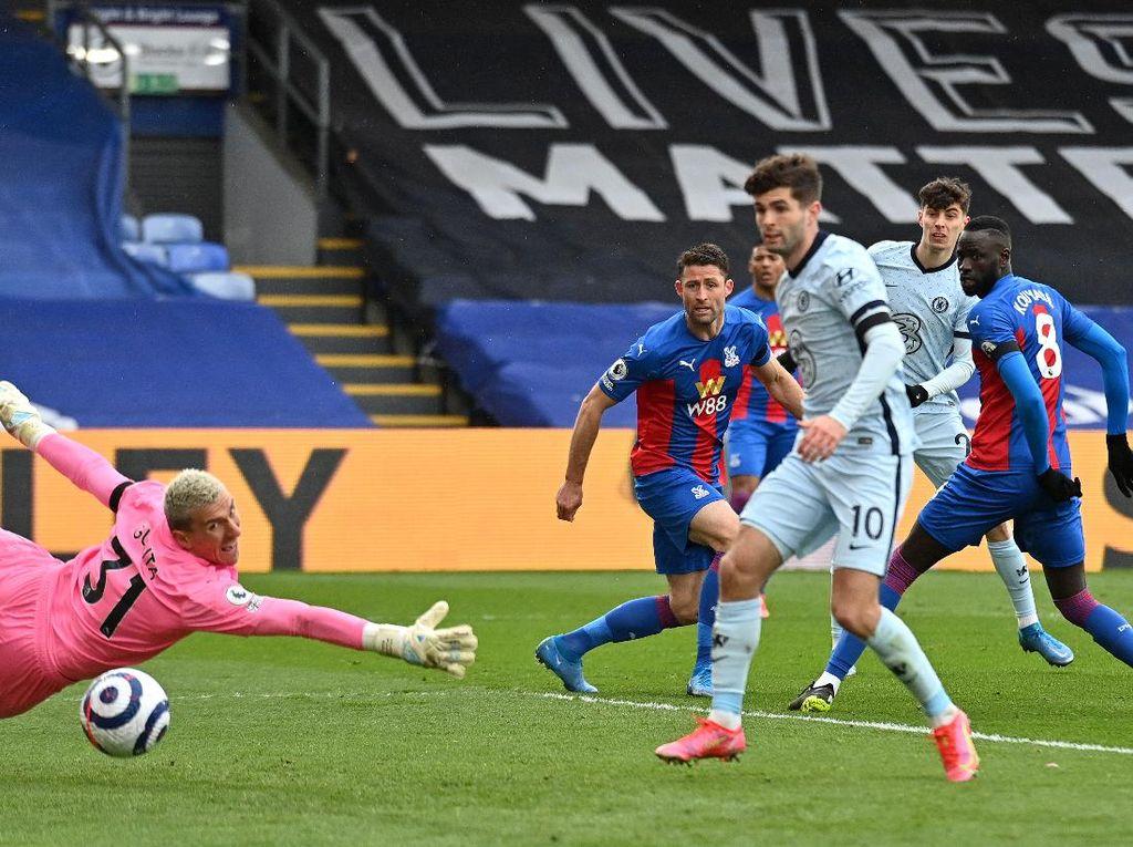Crystal Palace Vs Chelsea: Dominan, The Blues Unggul 3-0 di Babak I