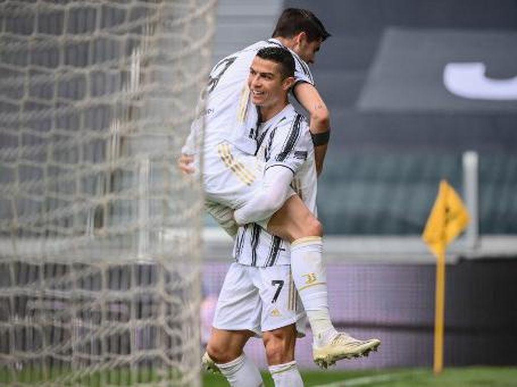 Lagi! Ronaldo Gagal Gol di Depan Gawang, Untung Kini Ada Morata