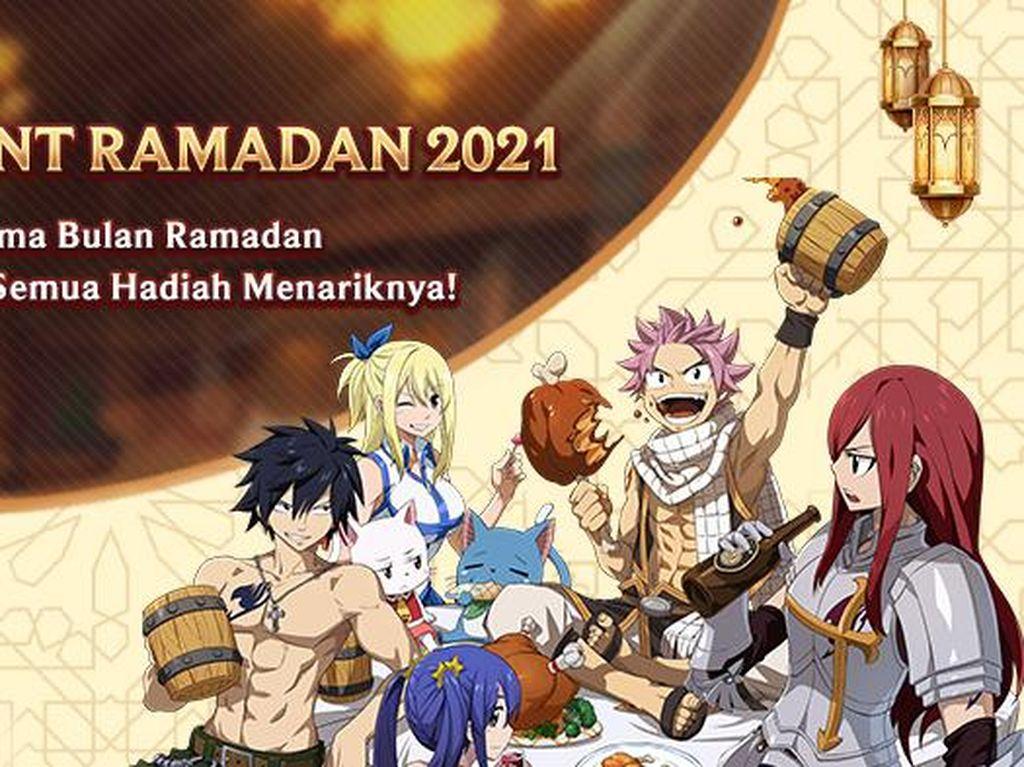 Gebyar Ramadhan FAIRY TAIL: Forces Unite! Bertabur Hadiah Keren