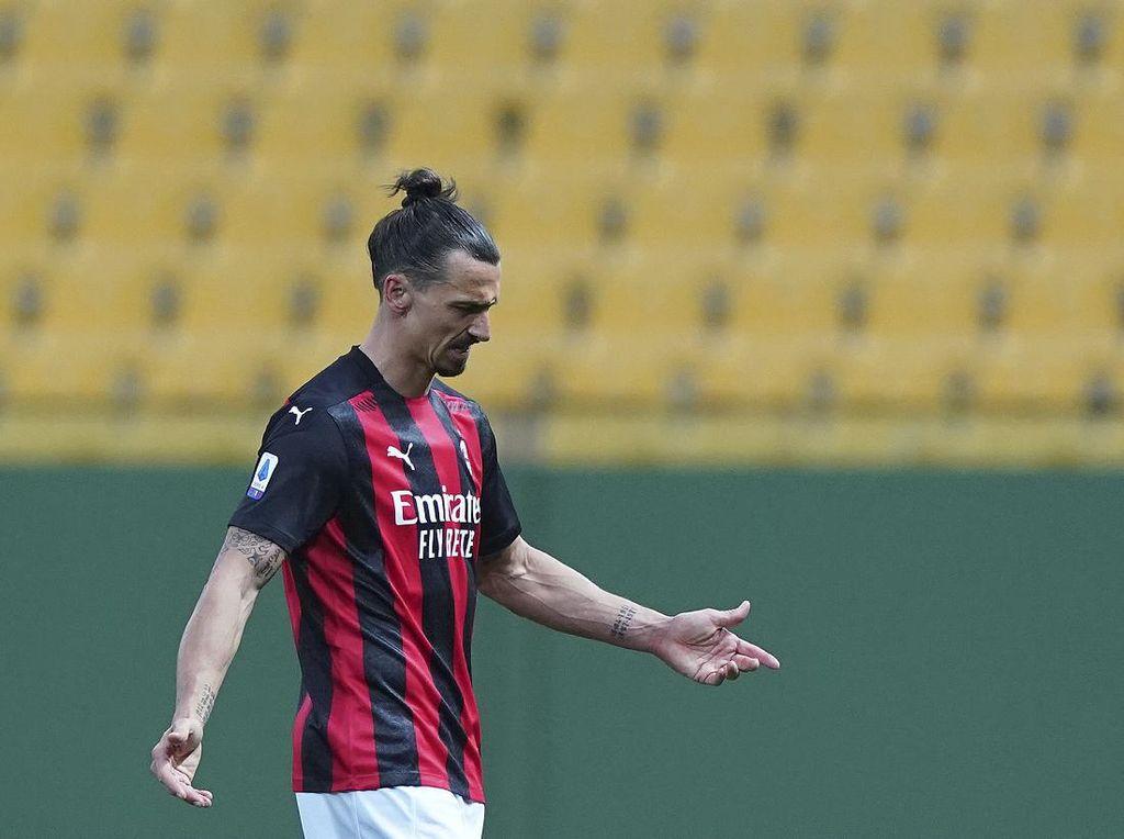 Ibrahimovic Absen di 2 Laga Milan Selanjutnya