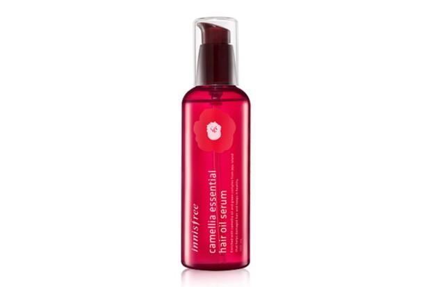 Innisfree Camellia Essential Hair Oil Serum.