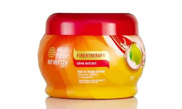 Makarizo Hair Energy Fibertheraphy Olive Extract Hair & Scalp Cream/watsons.co.id