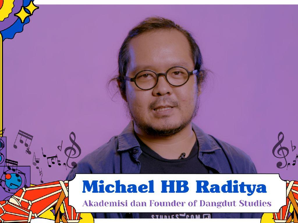 Michael HB Raditya dan yang Diperjuangkan untuk Dangdut