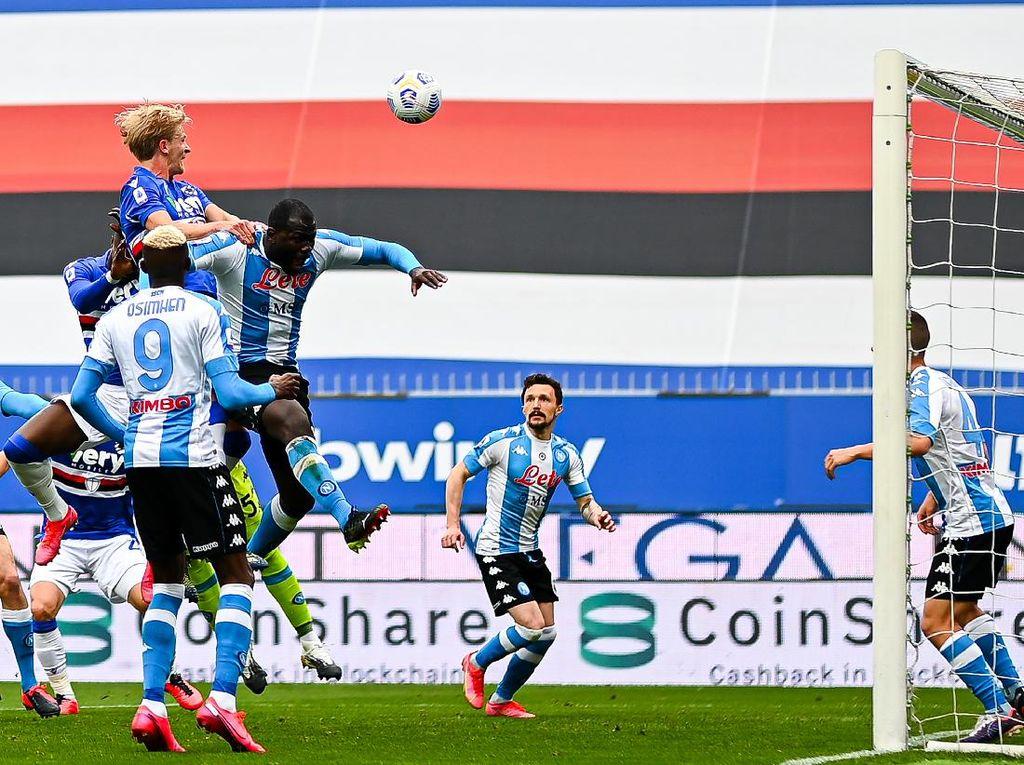 Sampdoria Vs Napoli: Partenopei Menang 2-0