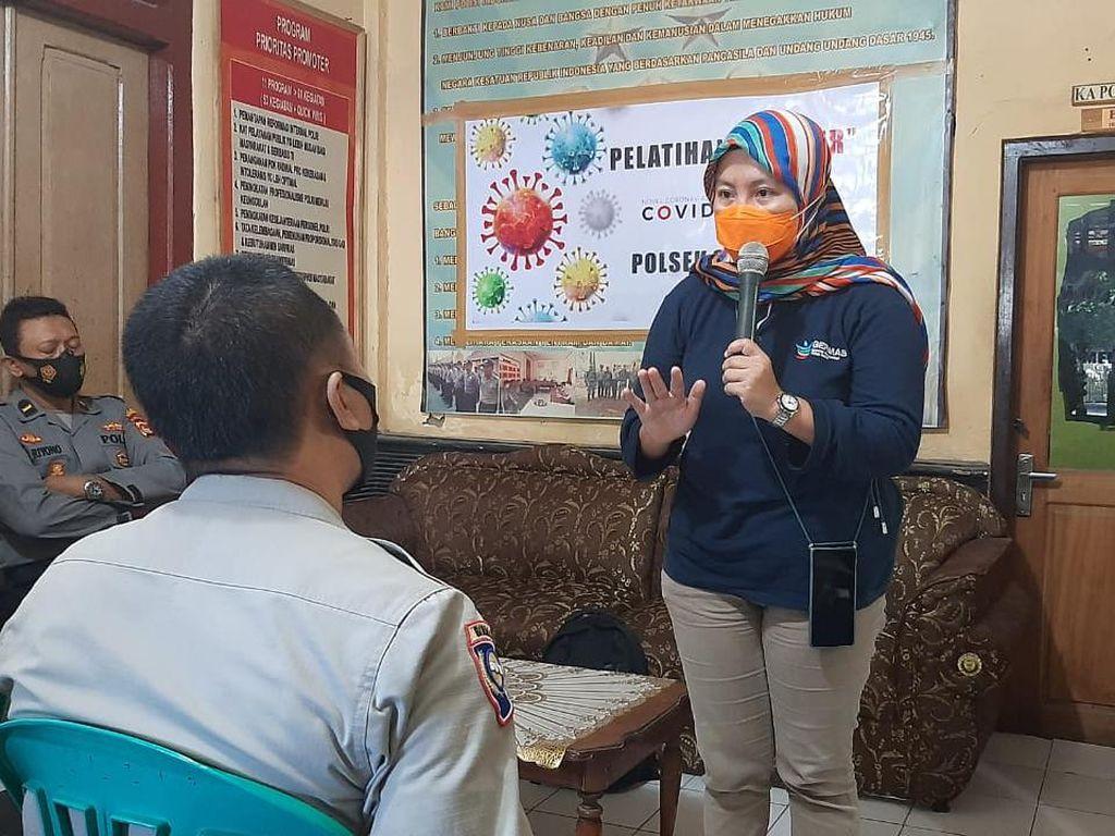 Polsek Sumbawa-UPT Puskesmas Gelar Pelatihan Tracer COVID-19